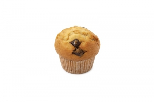 Vanilla Muffin with Chocolate Chips (indent)